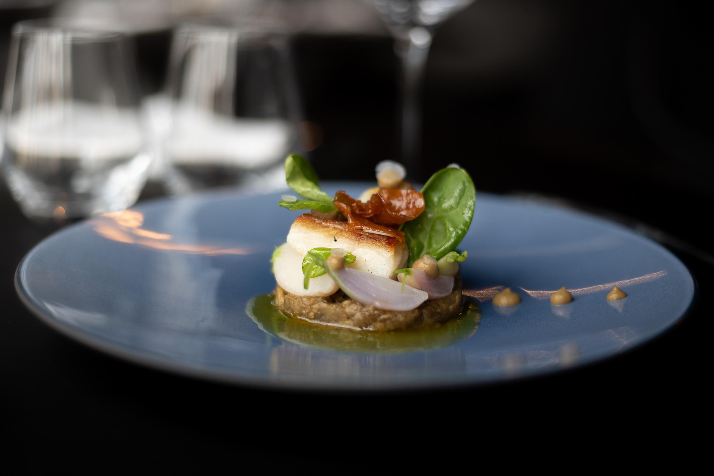 Restaurant Dish Secret des LysDomaine des Lys Luxury Hotel in Ancenis