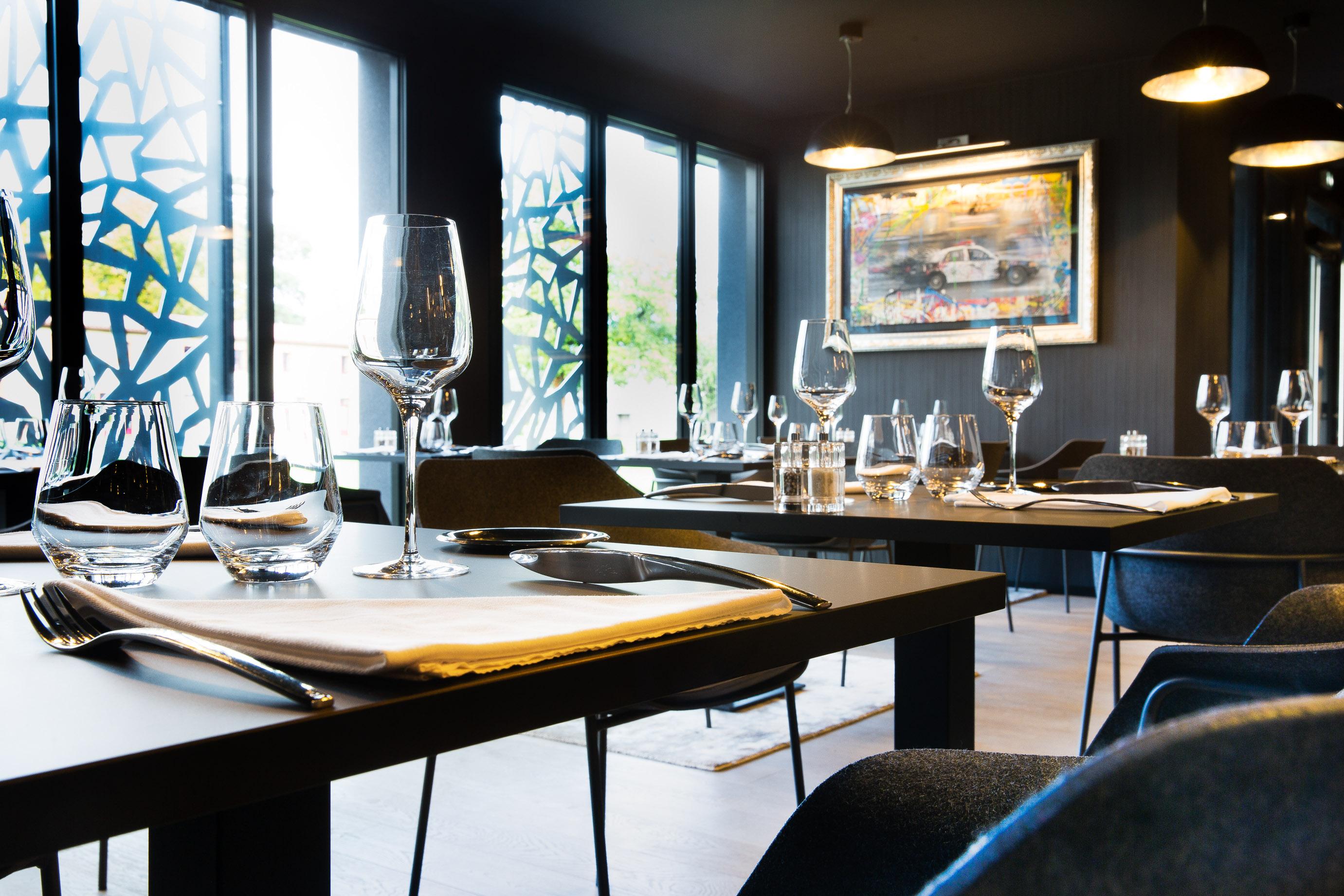 Salle du Restaurant Secret des Lys à Ancenis Domaine des Lys en Loire Atlantique
