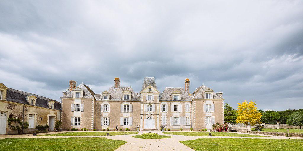 Chateau Mariage AncenisExtérieur du Domaine des Lys Hôtel de Luxe dans le Pays de la Loire