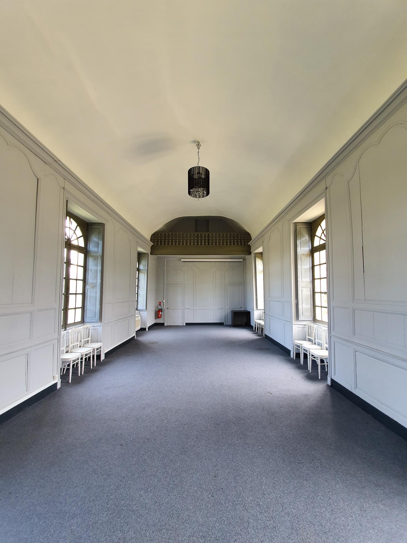 Salle Napoléon at Domaine des Lys Luxury Hotel in the Pays de la Loire in Ancenis